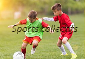 Colonies de vacances foot, basket, handball, rugby, sports collectifs